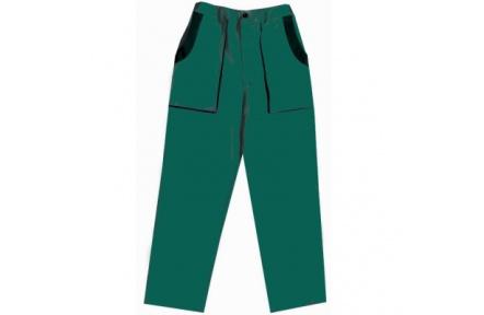 Pracovní kalhoty do pasu LUX JOSEF zelené