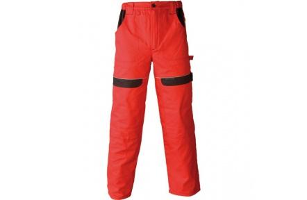 Pracovní kalhoty COOL TREND červené
