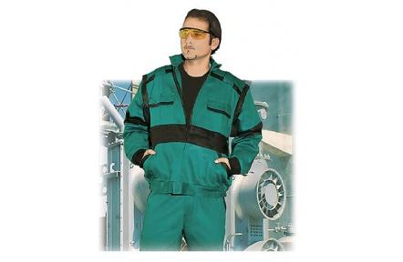 ZIMNÍ pracovní bunda LUX HUGO zelená