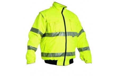 Reflexní bunda LEEDS 2v1 žlutá, zimní