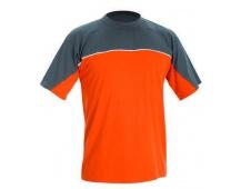 Triko DESMAN oranžovo/šedé