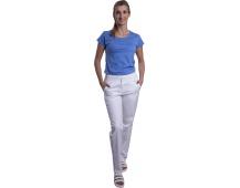 Bílé kalhoty dámské VIOLA, bílé