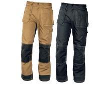 Pracovní kalhoty NARELLAN do pasu ČERNÉ