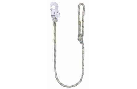 Bezpečnostní lano LB 100 s karabinou AZ 002, 1,5 m