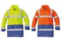 Reflexní bunda SEFTON žlutá/oranžová