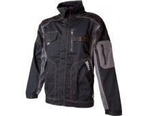 Pracovní bunda VISION černo-šedá