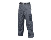 Pracovní kalhoty 4TECH do pasu šedé