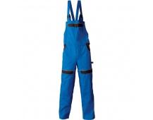 Pracovní kalhoty s laclem COOL TREND modré