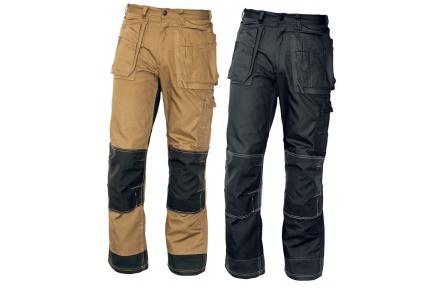 Pracovní kalhoty NARELLAN do pasu HNĚDÉ