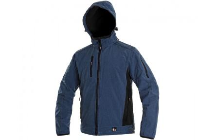 Softshellová bunda DURHAM modrá
