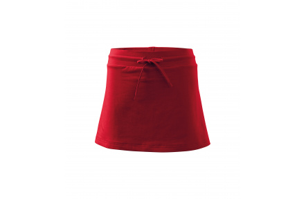 Dámská sukně Adler TWO in ONE, červená
