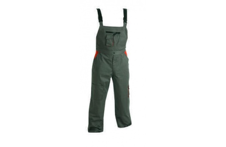 Pracovní kalhoty s laclem DESMAN