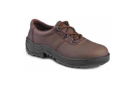 Pracovní obuv ARAL hnědá O1 !DOPRODEJ!