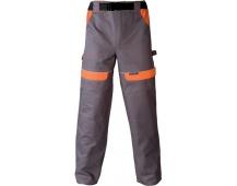 Pracovní kalhoty COOL TREND šedo-oranžové