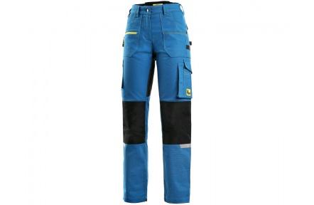 Pracovní kalhoty CXS STRETCH, dámské, středně modré