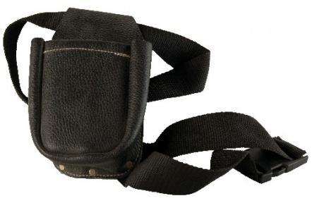 Hřebíčenka kožená 1 kapsová s opaskem