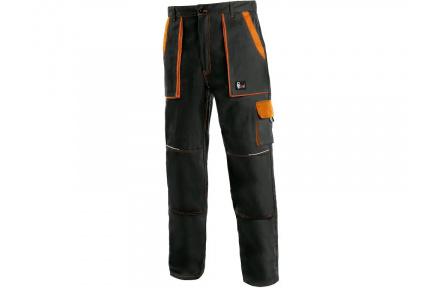 Pracovní kalhoty CXS LUXY Josef, černo-oranžové