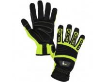 Pracovní rukavice CXS YEMA, kombinované