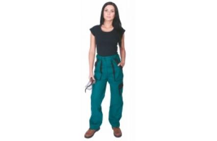 Pracovní kalhoty dámské LUX ELENA zelené