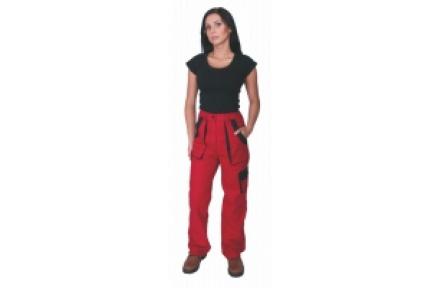 Pracovní kalhoty dámské LUX ELENA červené