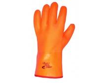 Pracovní rukavice FLAMINGO zimní, máčené v PVC