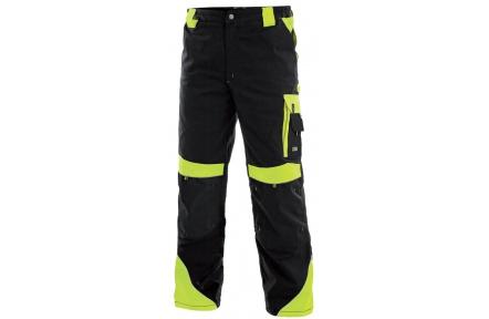 99ff1568c1f4 Pracovné nohavice SIRIUS Brighton čierno   žlté - PRACOVNÉ ODEVY ...