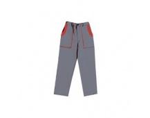 Pracovní kalhoty do pasu LUX JOSEF šedo-červené