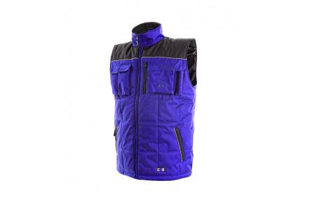 Pracovní vesta zateplená SEATLE modro-černá