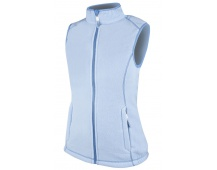 Dámská vesta fleecová JANETTE, modrá