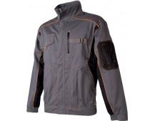 Pracovní bunda VISION šedo-oranžová