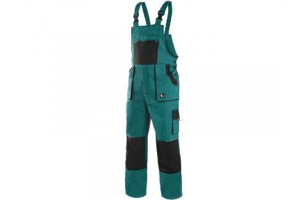 Zimní pracovní kalhoty lacl LUX MARTIN, zeleno-černé