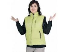 Dámská zimní vesta ROSEVILLE zelená