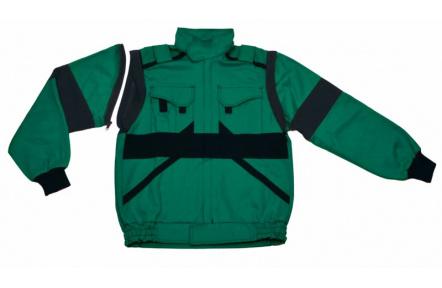 Pracovní bunda LUX EDA zelená