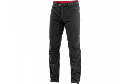Kalhoty CXS OREGON, letní, černo-červené