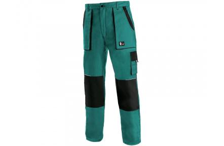 Pracovní kalhoty CXS LUXY Josef, zeleno-černé