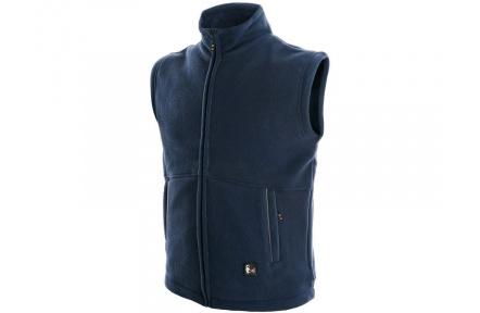Vesta fleece UTAH, tmavě modrá