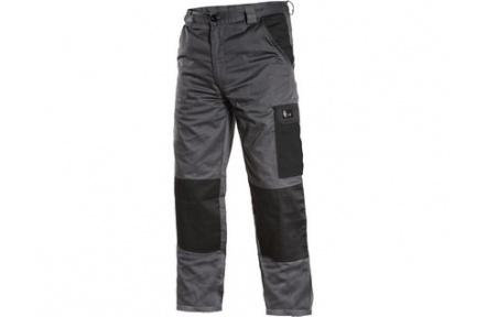 Pracovní kalhoty pas PHOENIX CEFEUS, šedo-černé