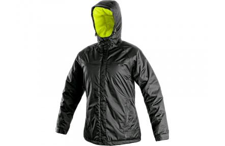 Zimní bunda dámská CXS Kenova, černo-žlutá