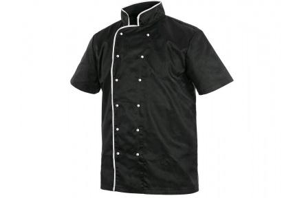 Kuchařský RONDON Chef, krátký rukáv, černý