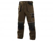 Pracovní kalhoty ORION TEODOR hnědé