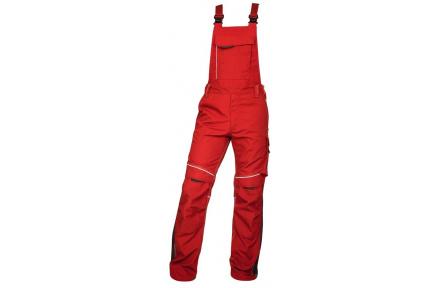 Pracovní kalhoty s laclem URBAN+ červené