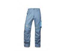 Letní kalhoty do pasu SUMMER, světle šedé