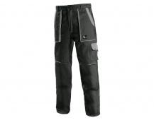 Pracovní kalhoty CXS LUXY Josef, černo-šedé