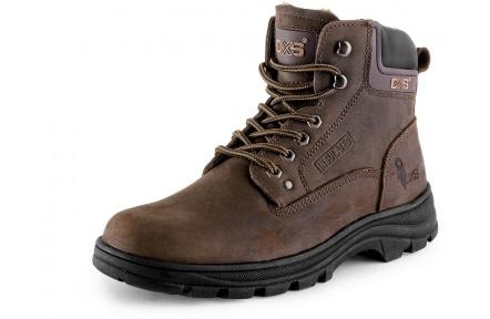 Zimní pracovní obuv ROAD GRAND Winter hnědá