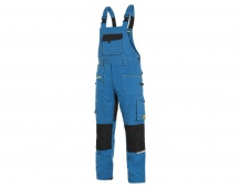 Pracovní kalhoty lacl CXS STRETCH, středně modré