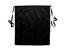 Zástěra Tradetex černá, krátká, do pasu