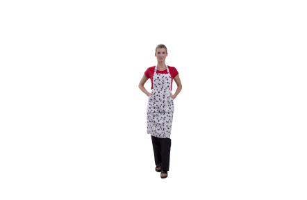 Zástěra kuchařská dámská KOČKY