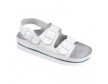 5f5d38e19cc5 Dámské sandály bílé kožené Cork Megi