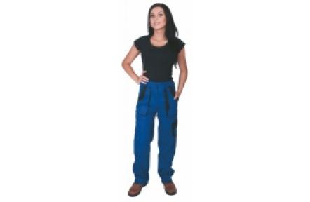 Pracovní kalhoty dámské LUX ELENA modré