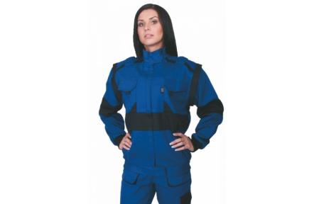Pracovní bunda dámská LUX DIANA modrá
